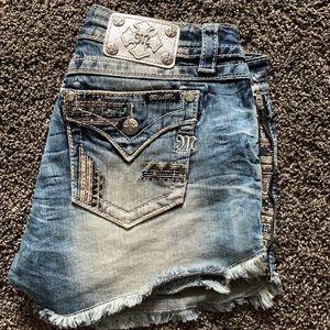 Women's miss me shorts